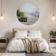 Wanddecoratie behangcirkel