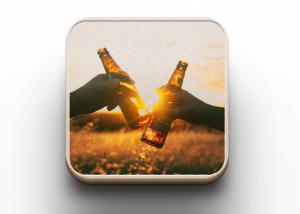 Fotocadeau bierviltje