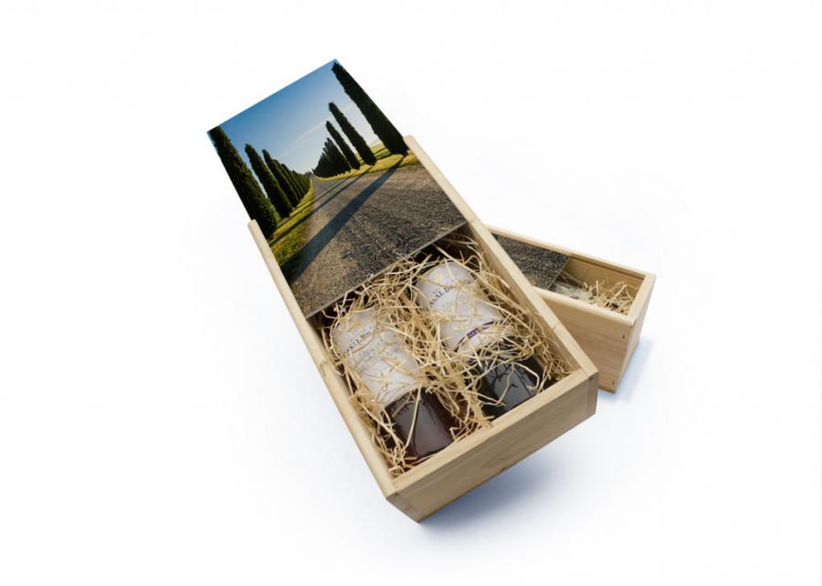 Fotocadeau wijnkist