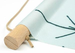 Wanddecoratie textielposter